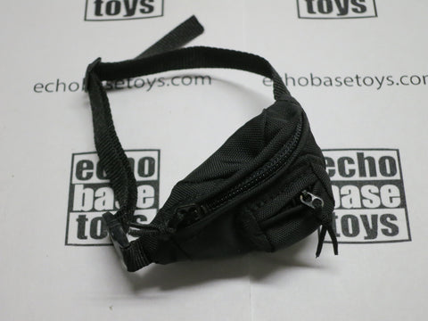 DAM Toys Loose 1/6th Fanny Pack (Waist Bag)(FSBE2)(BK) #DAM4-P113