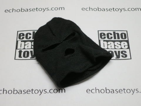 DAM Toys Loose 1/6th Balaclava (3 Hole,Black) #DAM5-H501