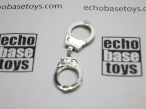 DAM Toys Loose 1/6th Hand Cuffs (Metal,Chrome) #DAM5-A700