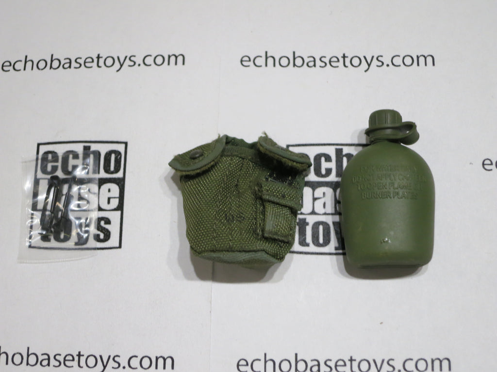 ACE 1/6th Loose M1967 Canteen Pouch & Canteen (OD) #ACL6-P302
