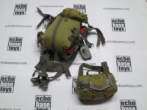DAM Toys Loose 1/6th VDV Personnel Parachute Harness (w/Reserve) #DAM5-Y800