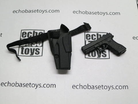 VERY COOL 1/6 Loose G17 Pistol (w/Holster) #VCL9-W010