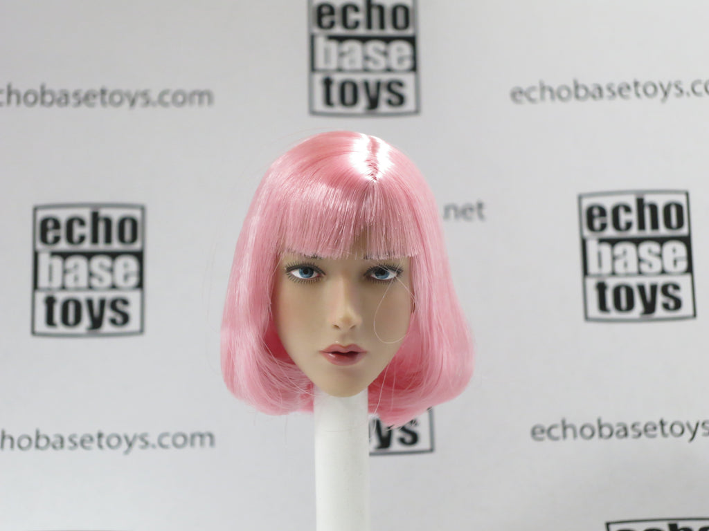 VERY COOL 1/6 Loose Head Sculpt (Pink Hair) #VCNB-TJ02A