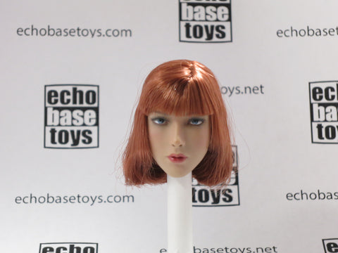VERY COOL 1/6 Loose Head Sculpt (Auburn Hair) #VCNB-TJ02B