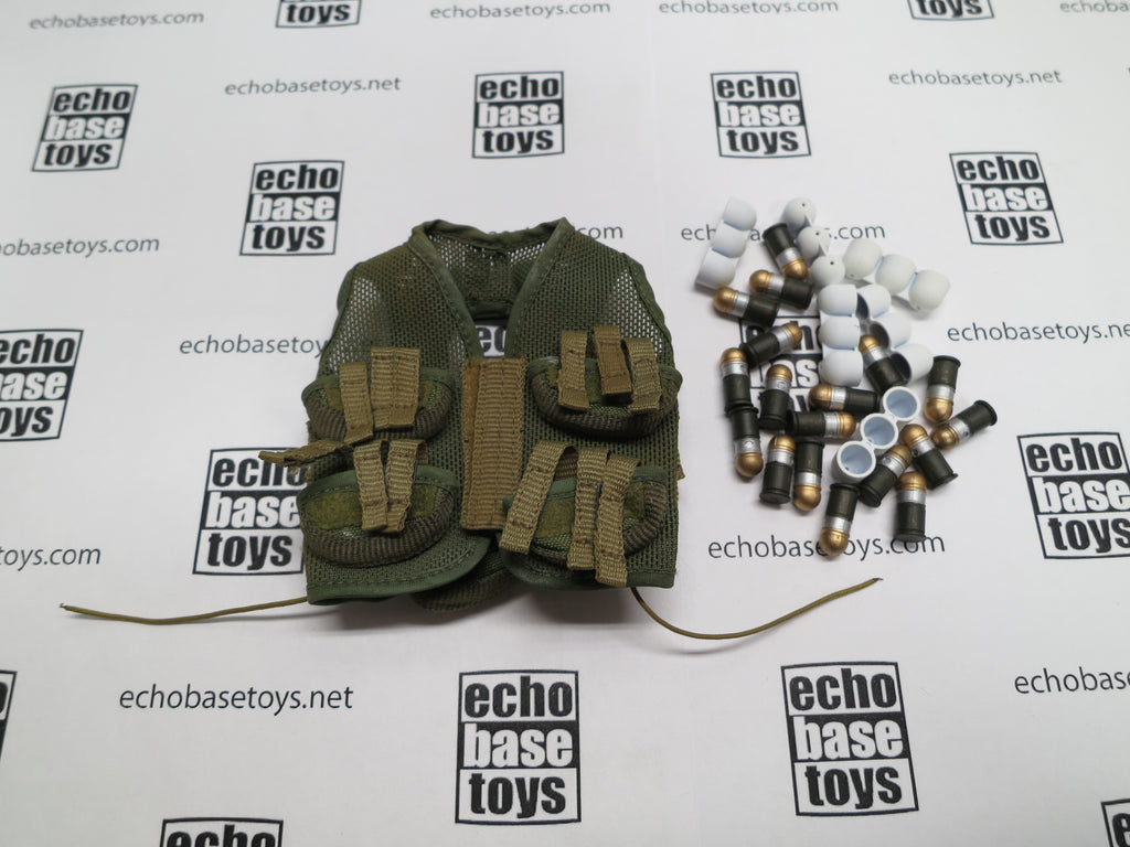 ACE 1/6th Loose Grenadier Vest 1st Pattern (w/18x M433 Grenade) #ACL6-Y400