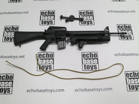 ACE 1/6th Loose XM16E1 Rifle with XM148 Grenade Launcher (w/Cord Sling) #ACL6-W102