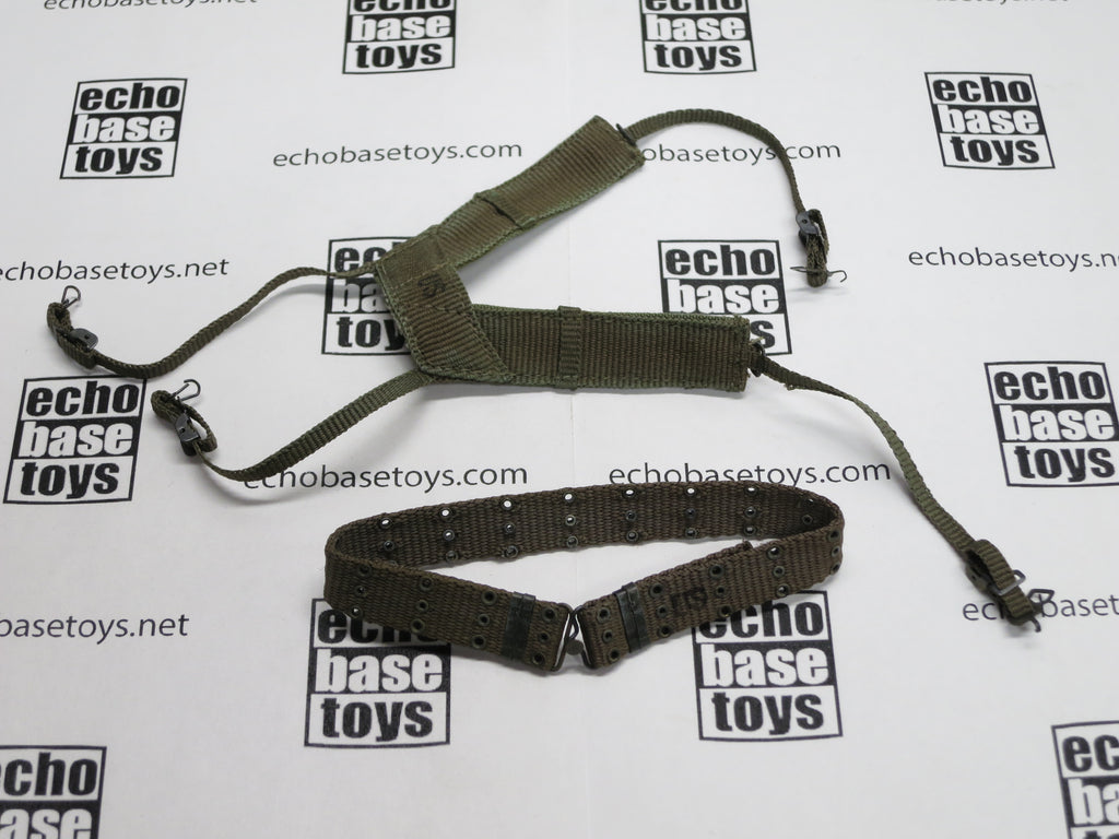 ACE 1/6th Loose M1956 Web Belt & Suspenders #ACL6-Y101