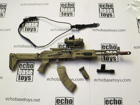 DAM Toys Loose 1/6th AK Tactical Rifle (w/Accessories) #DAM4-W525
