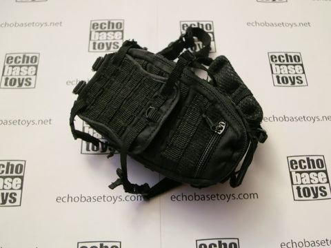 DAM Toys Loose 1/6th Backpack (TAD)(Black) #DAM4-P102