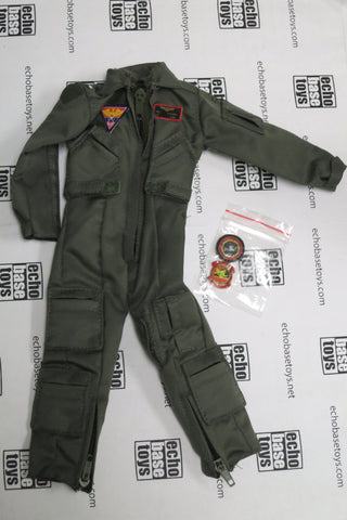 Dragon Models Loose 1/6th Scale Modern Pilot Flightsuit w/USN Patches #DRL8-U100