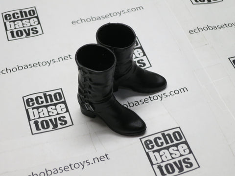 TOYS WORKS Loose 1/6th Boots (Black,Female) Modern Era #TZL4-B500