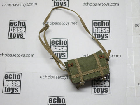 TOYS WORKS Loose 1/6th Camera Bag (Green/Tan) Modern Era #TZL4-P500