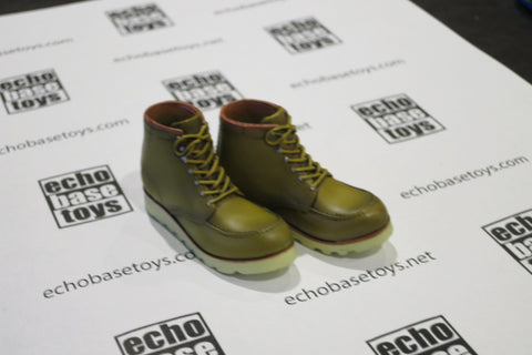 MCC Toys Loose 1/6th Dr. Martens Pascal Boots - Pair (Tan/Yellow) #MCC4-B101