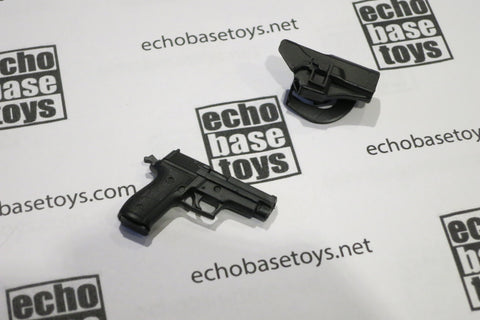 MCC Toys Loose 1/6th Sig P226 Pistol (w/Black Holster) #MCC4-W010