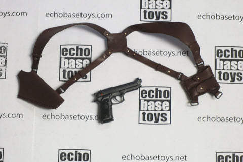 CC Toys Loose 1/6th Scale 92F Handgun - Shoulder Holster #CCT4-W050