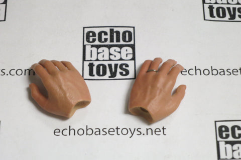 CC Toys Loose 1/6th Scale Hands (Pair,Relax) #CCT4-HD004