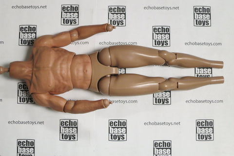 CC Toys Loose 1/6th Scale Body - Muscle Style (Unexplored Nate) #CCT4-HB19X01