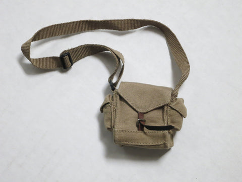 TOYS CITY Loose 1/6 WWII Russian Gas Mask Pouch (Khaki,Fabric) #TCL5-P500