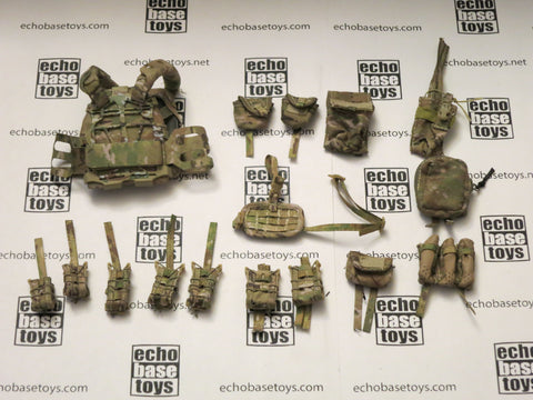 MINI TIMES 1/6th Loose Plate Carrier - S&S Precision (Multi-Cam,w/Acc) #MIT4-Y300