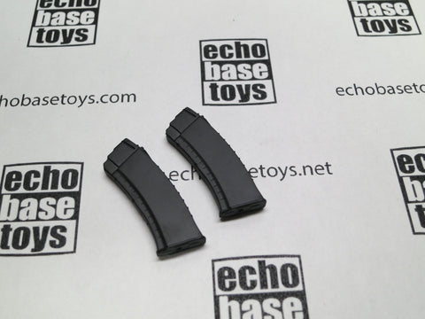 DAM Toys Loose 1/6th AK Magazine (2x)(30rd Size,Black) #DAM5-X109