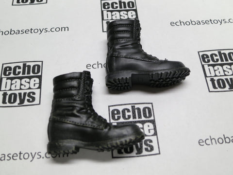 DAM Toys Loose 1/6th Boots Russian Paratrooper (Female Size,Black) #DAM5-B150
