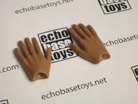 DAM Toys Loose 1/6th Bendy Hands (Pair,No Wrist Pegs) #DAMNB-H200A