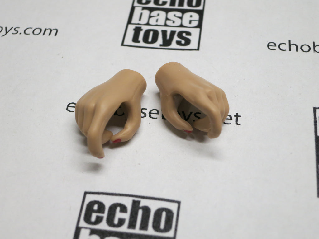 JIAOU DOLL 1/6 Loose Hands (Pair,Tan, Pistol Grip) #JDL9-HD001