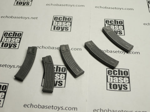 TOYS CITY Loose 1/6 WWII German MP-44 Magazines (5x) #TCG1-X125