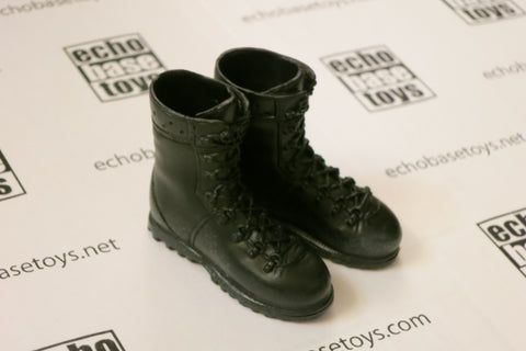 TOYS WORKS Loose 1/6th Boots - Combat (Black,Pair) Modern Era #TZL4-B300