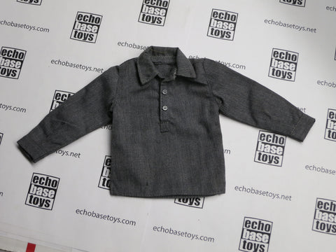 TOYS CITY Loose 1/6 WWII German Undershirt (Dark Gray) #TCG1-U901