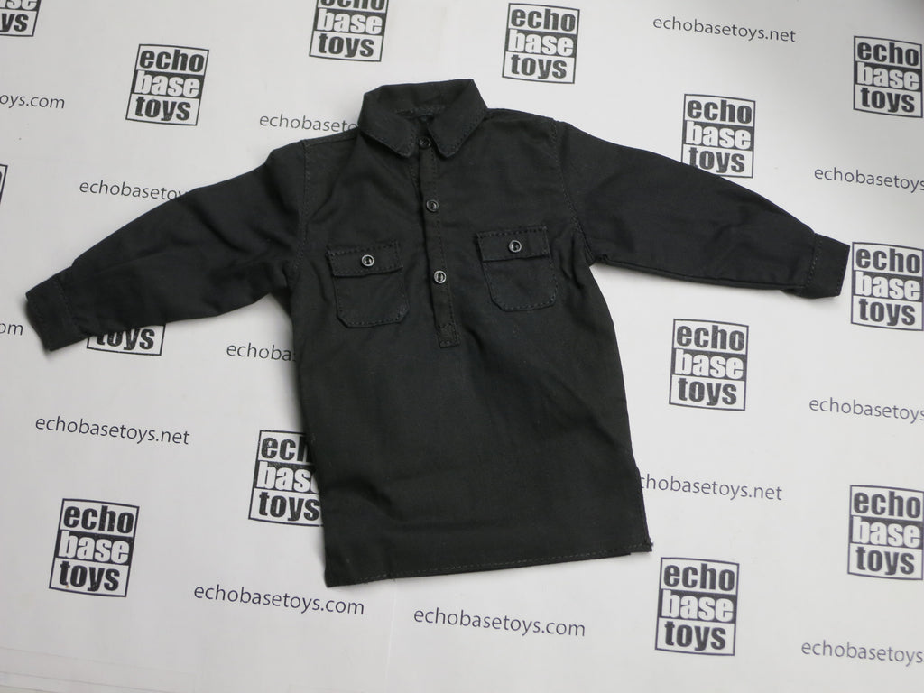 TOYS CITY Loose 1/6 WWII German Undershirt (Black) #TCG1-U902
