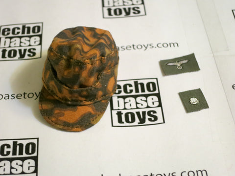 TOYS CITY Loose 1/6 WWII German M42 Field Cap (Autumn Blurred Edge,W/Emblems) #TCG1-H501A