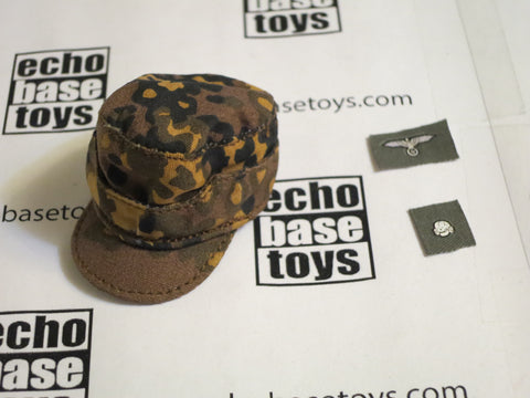 TOYS CITY Loose 1/6 WWII German M42 Field Cap (Autumn Oak Leaf,W/Emblems) #TCG1-H502A