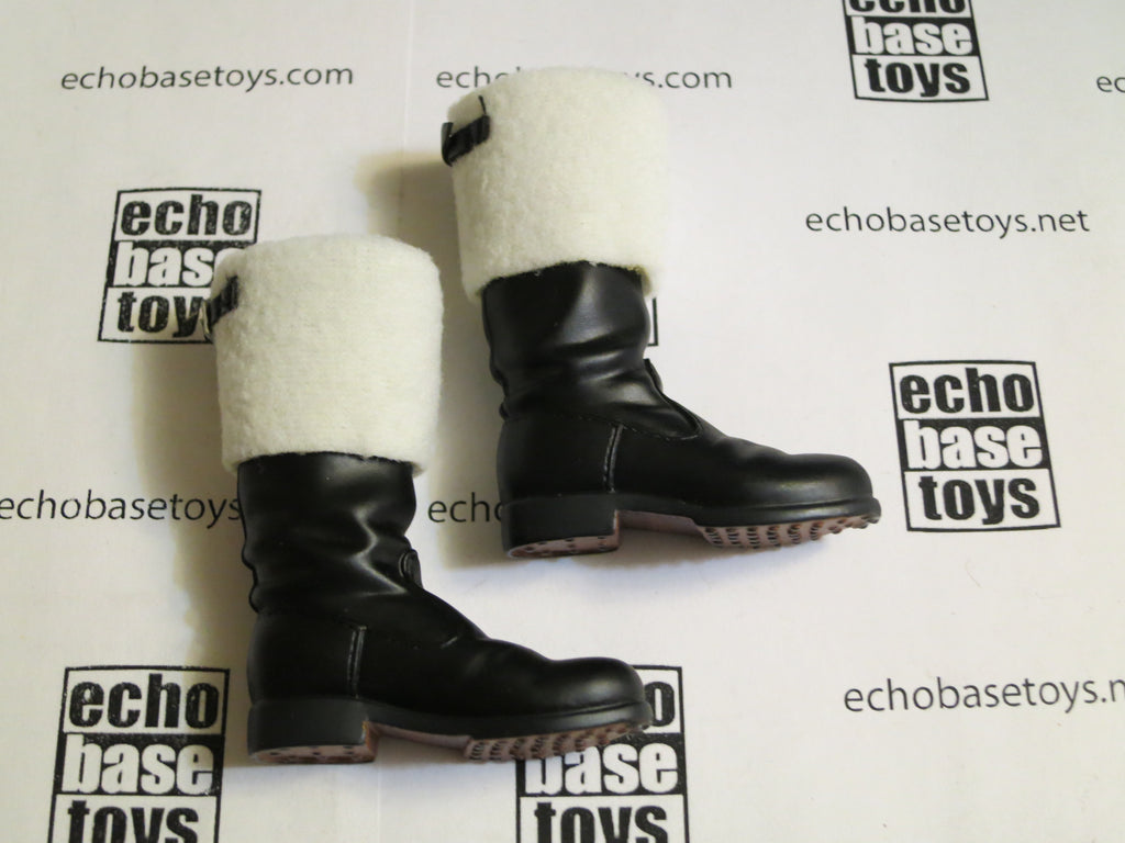 TOYS CITY Loose 1/6 WWII German Boots (Winter,Felt) #TCG1-B200