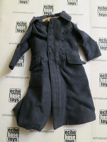 TOYS CITY Loose 1/6 WWII German M40 Great Coat - Luftwaffe (Blue) #TCG1-C750
