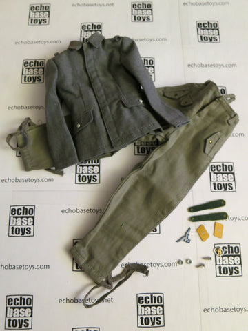 TOYS CITY Loose 1/6 WWII German Luftwaffe Fliegerbluse/Jump Trousers (w/Emblems) #TCG1-U501