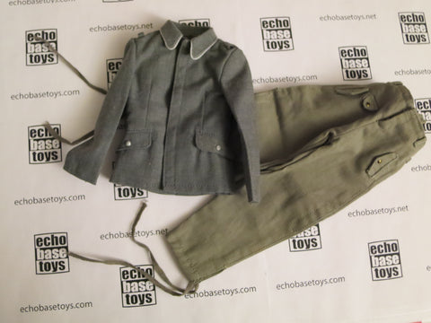 TOYS CITY Loose 1/6 WWII German Luftwaffe Fliegerbluse/Jump Trousers (w/Medals,Emblems) #TCG1-U500