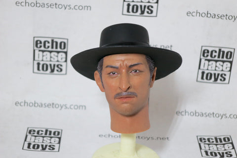 REDMAN Loose 1/6th Head Sculpt - The Bad L. Van Cleef (RMT-034) #RMN0-HS034
