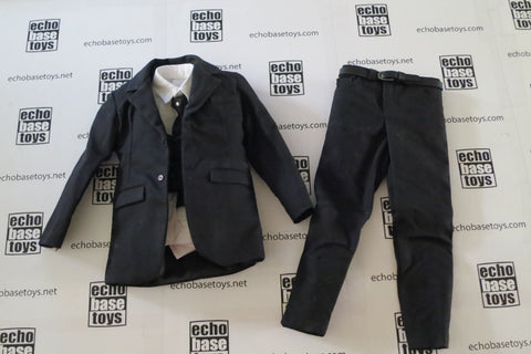 REDMAN Loose 1/6th Suit - 3pc. (Black) Western Era #RMN8-U100