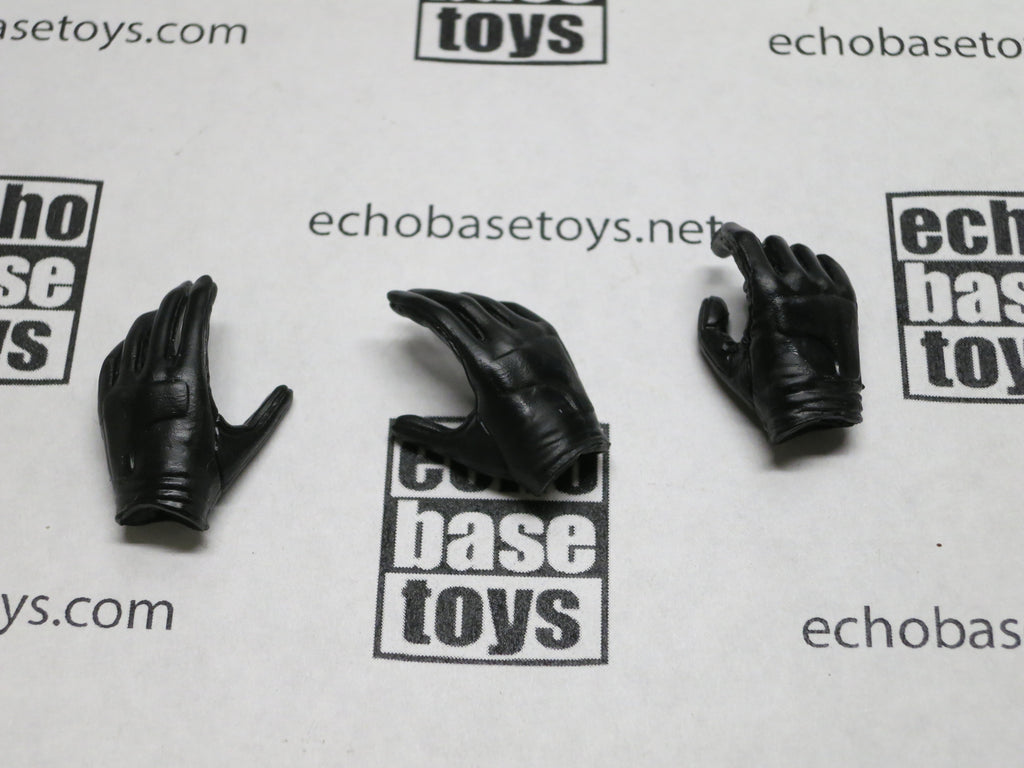 VERY COOL 1/6 Loose Gloved Hands (3x,Black) #VCL9-HD100
