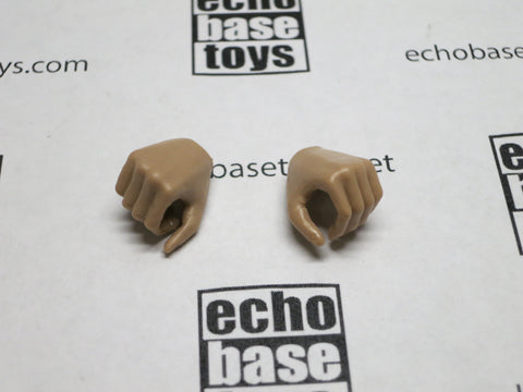 VERY COOL 1/6 Loose Hands (Pair,Medium Tan, Grip) #VCL9-HN004C