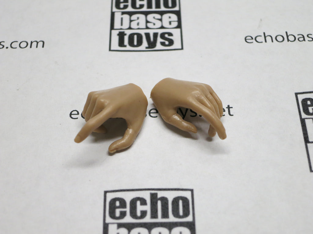 VERY COOL 1/6 Loose Hands (Pair,Medium Tan, Pistol Grip) #VCL9-HN001C