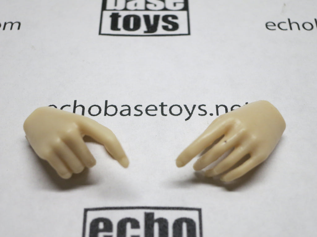 VERY COOL 1/6 Loose Hands (Pair,Pale,Pistol Grip) #VCL9-HD001A