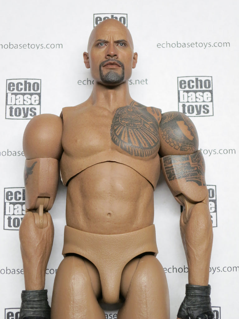 HOT TOYS 1/6th Loose Roadblock Body (The Rock,D. Johnson)) #HTNB-2000