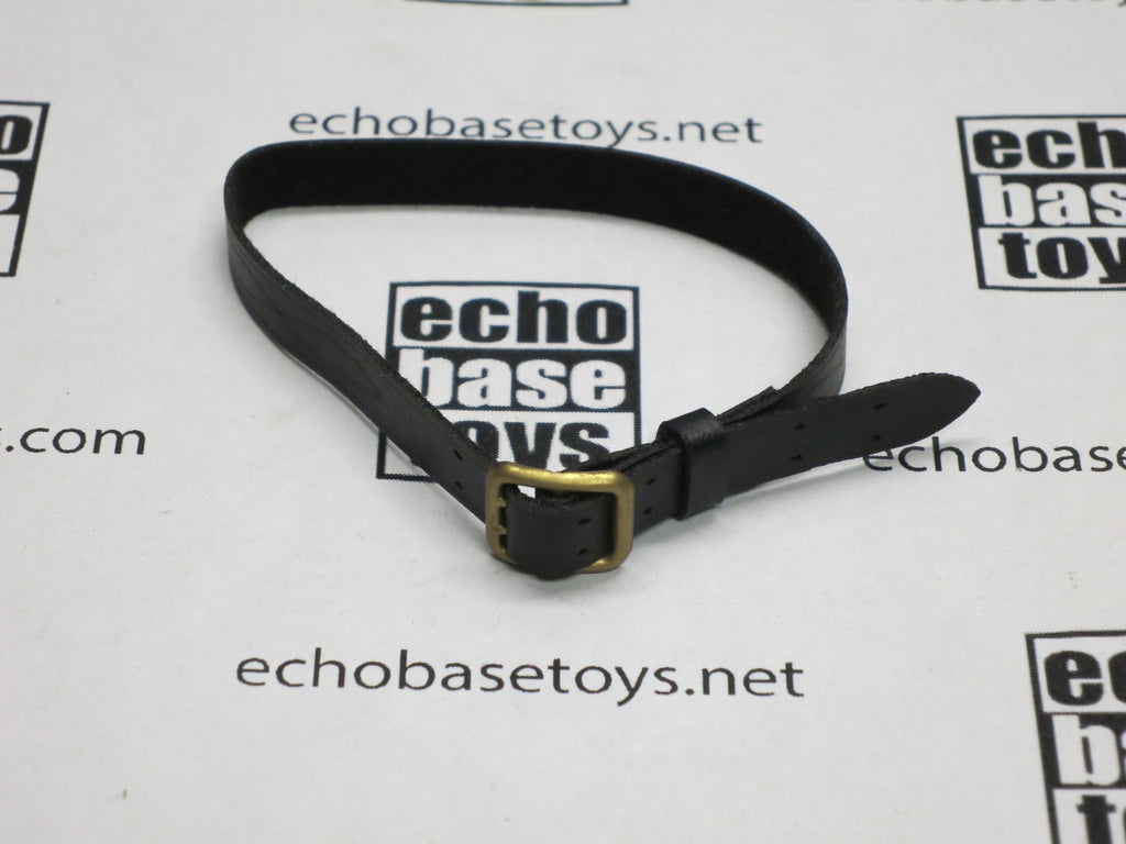 DAM Toys Loose 1/6th Belt (Double Claw,Black,Gold Buckle) #DAM5-Y020