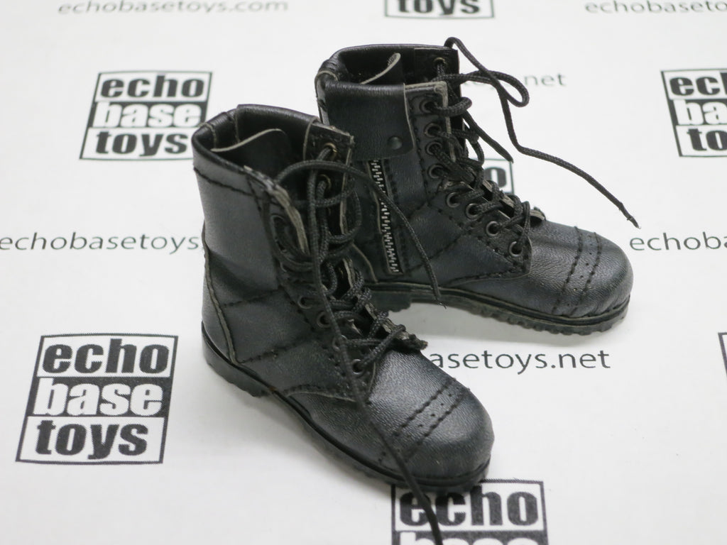 DAM Toys Loose 1/6th Boots (Spetsnaz,Pair,Black) #DAM5-B105