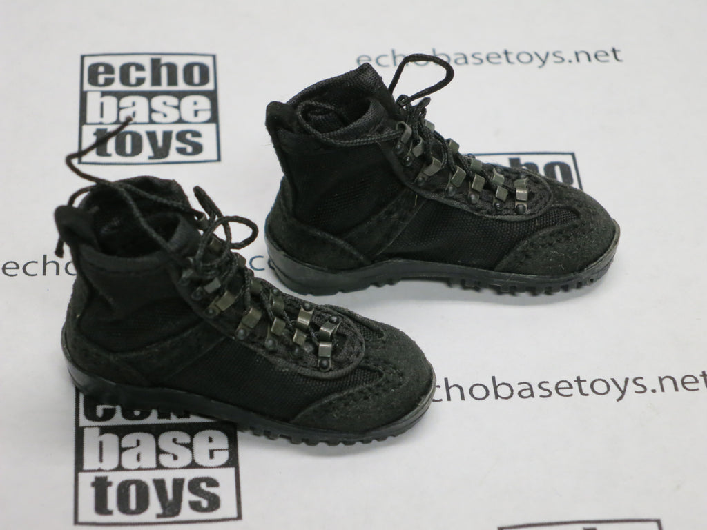 DAM Toys Loose 1/6th Boots Russian Tactical Assault (Black,Urban) #DAM5-B200