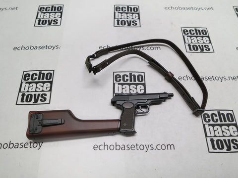 DAM Toys Loose 1/6th Stetchkin APS Pistol (Wood Stock,Sling) #DAM5-W025