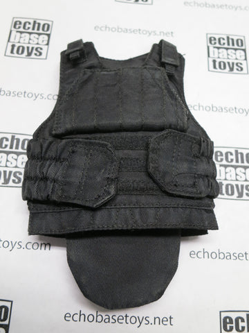 DAM Toys Loose 1/6th DEFENDER-2 Low Prolife Armor Vest (Black) #DAM5-Y400