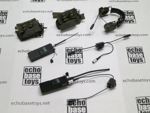 DAM Toys Loose 1/6th AN/PRC-148 Radio (2x)(w/Comtac2,Pouch 2x) #DAM4-K204